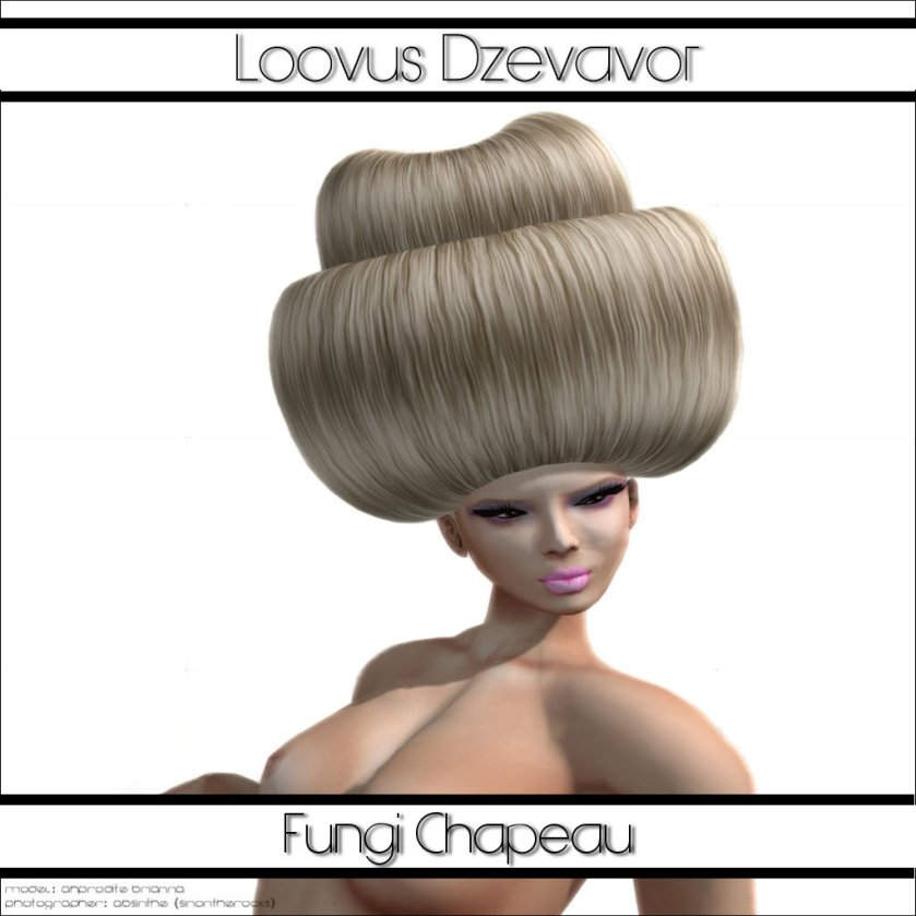 LD Hair Fungi Chapeau Advert