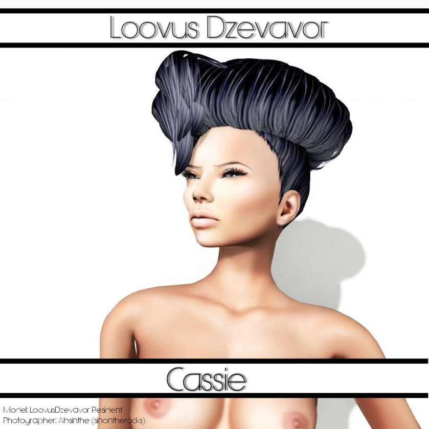 LD Hair  Cassie Advert