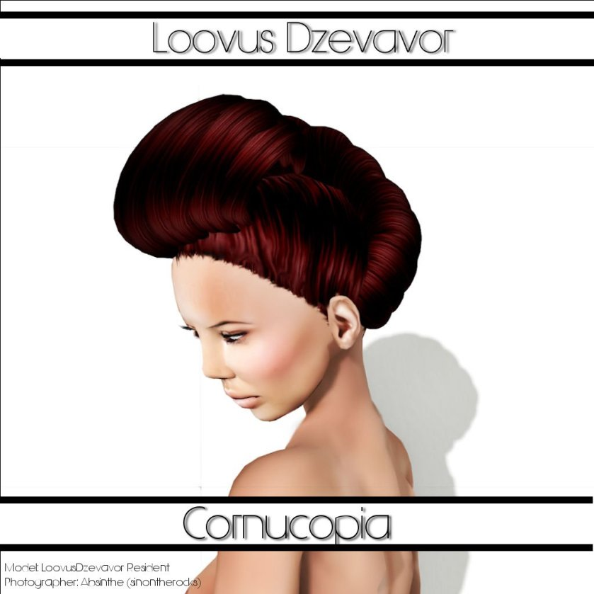 LD Hair  Cornucopia Advert