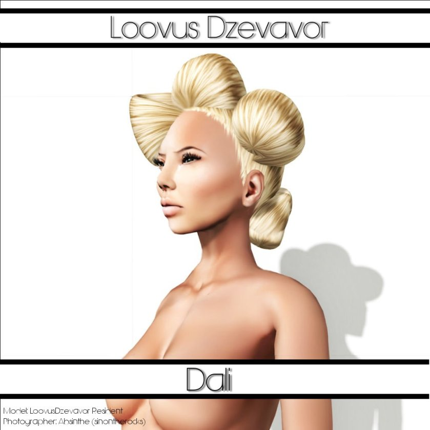 LD Hair  Dali Advert