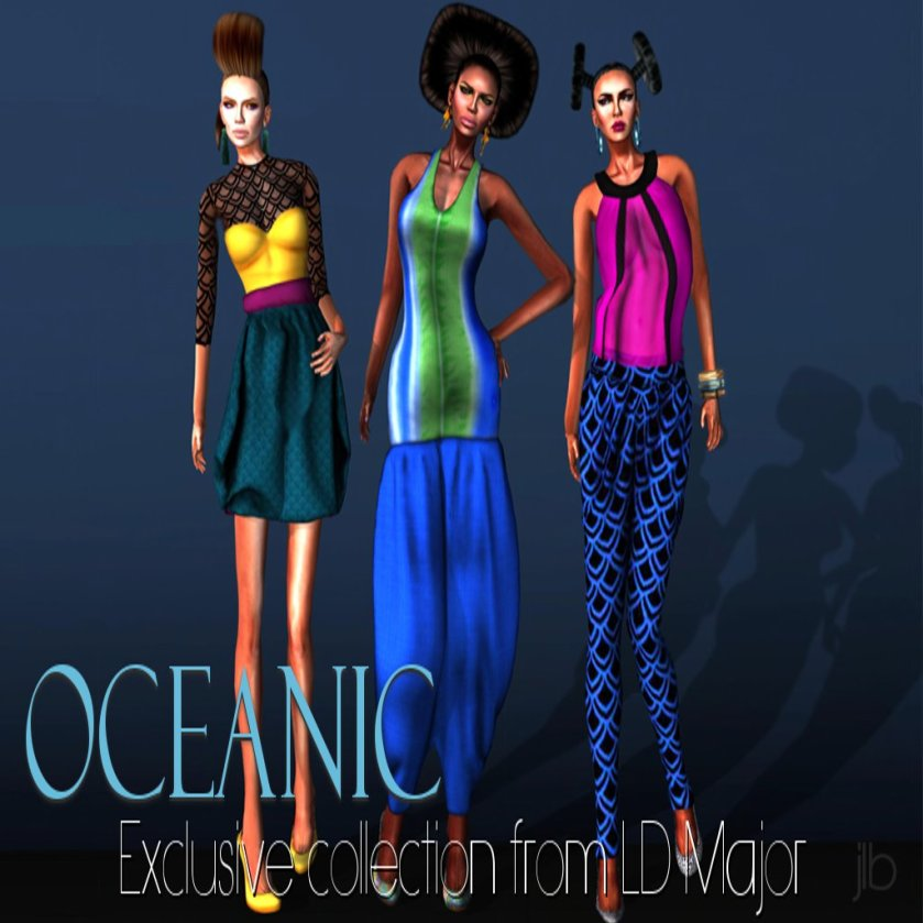LD Major Oceanic Collection Ad