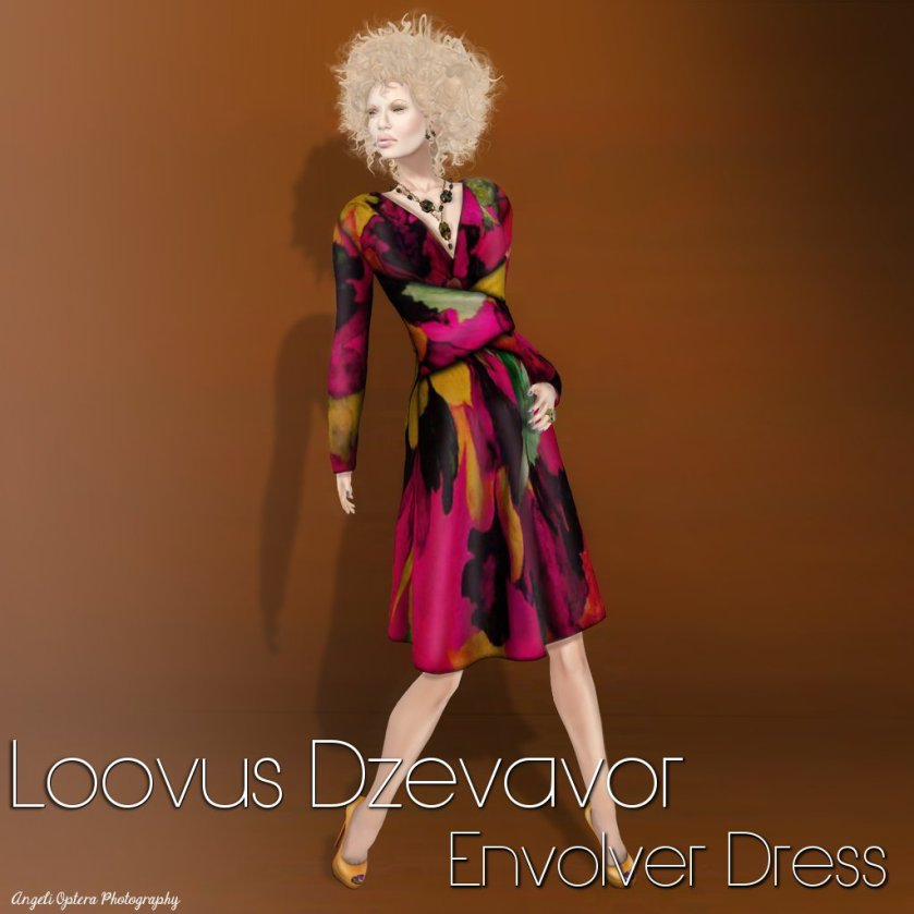 LD Envolver Dress Ad