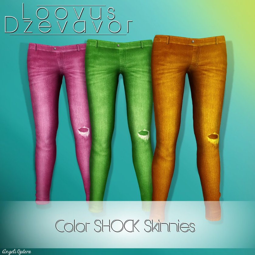 Loovus Dzevavor Color Shock Skinnies Ad