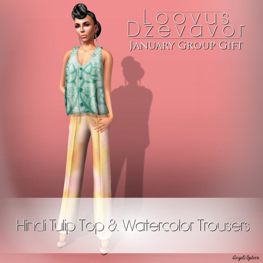 Loovus Dzevavor January Group Gift ad