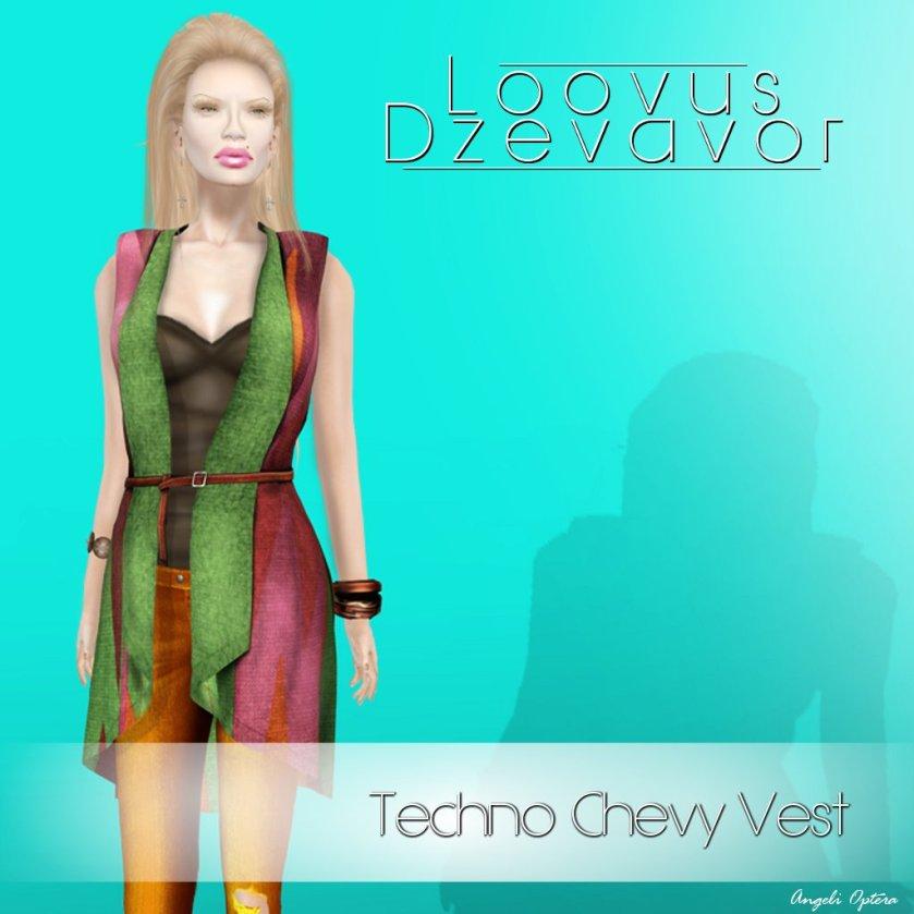 Loovus dzevavor Techno Chevy Vest Ad