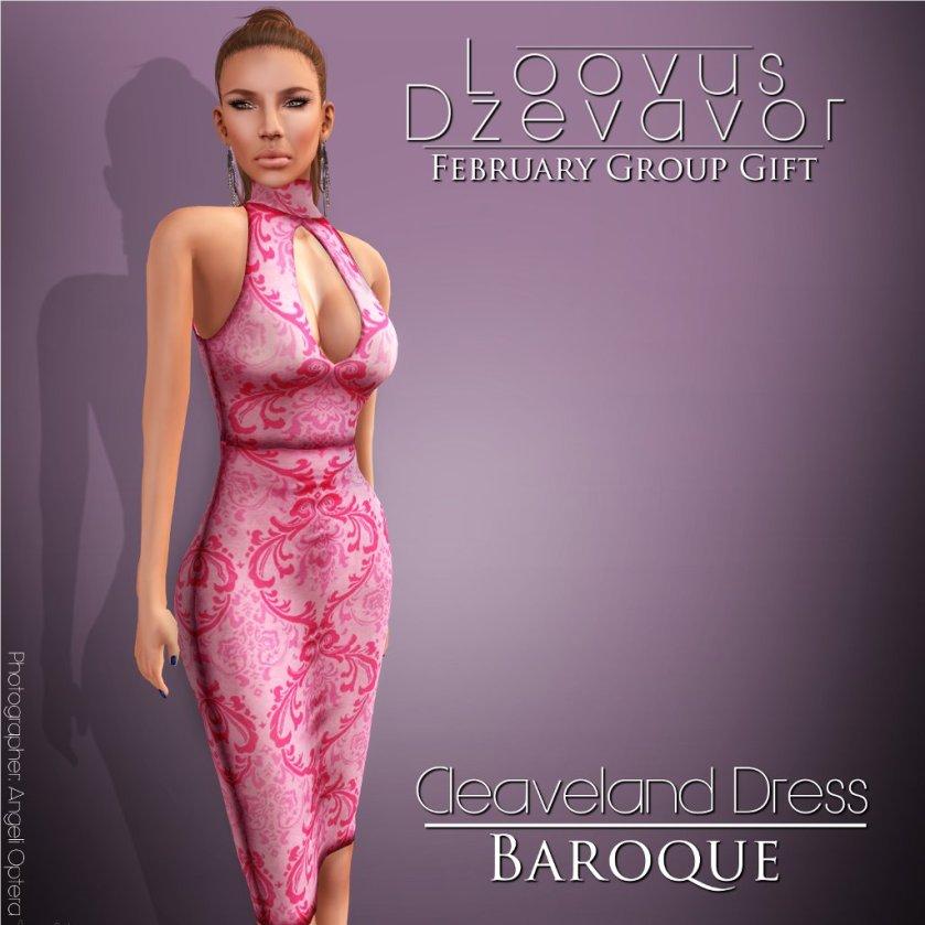 Loovus Dzevavor Cleaveland Dress Baroque ad