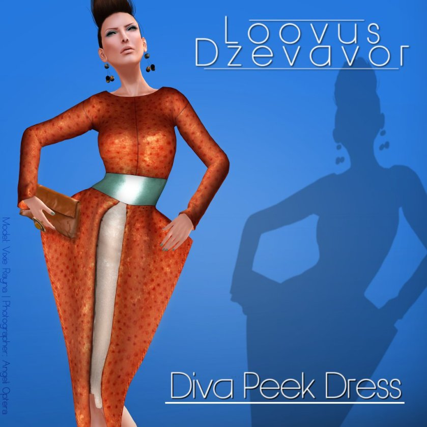 Loovus Dzevavor Diva Peek Dress ad