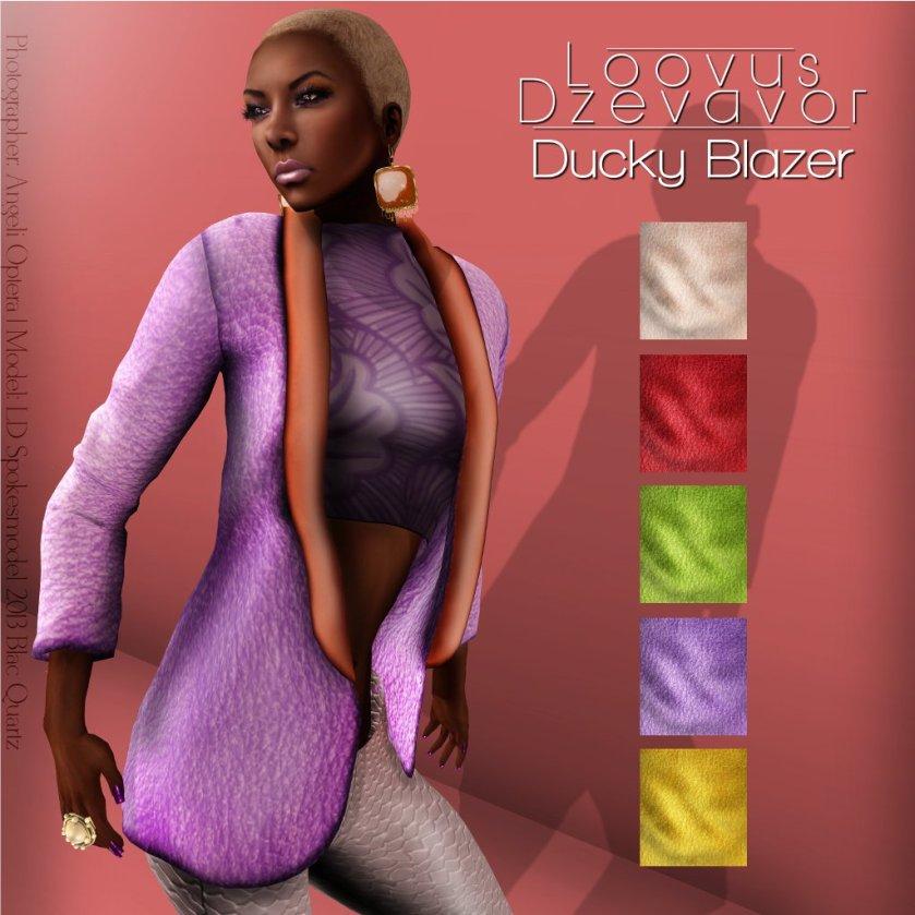 Loovus Dzevavor Ducky Blazer ad