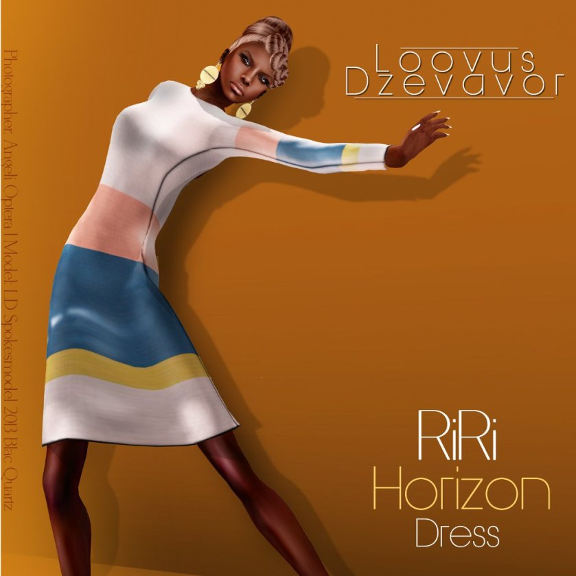 LD Riri Horizon Dress ad