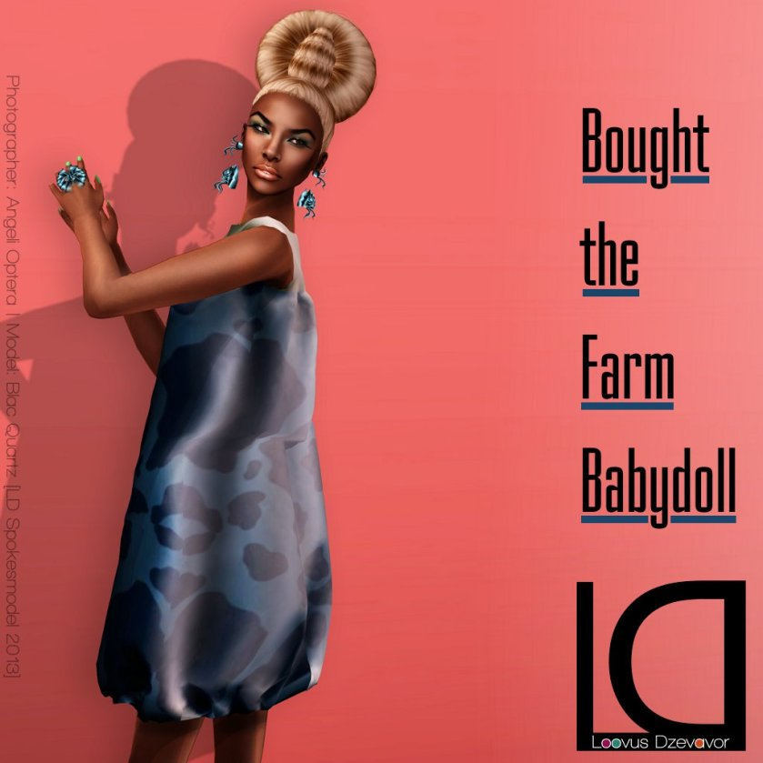 Loovus Dzevavor Bought the Farm Babydoll ad for fifridays