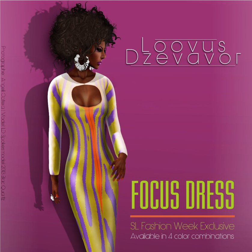 Loovus Dzevavor Focus Dress SLFW ad