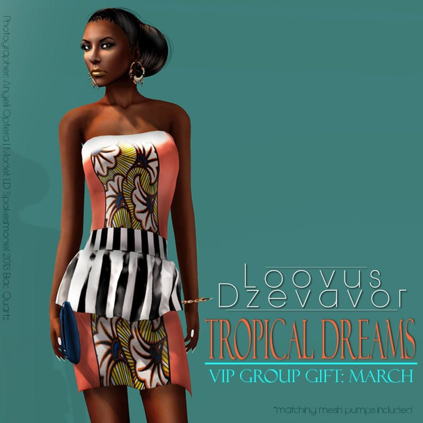 Loovus Dzevavor March Group Gift ad