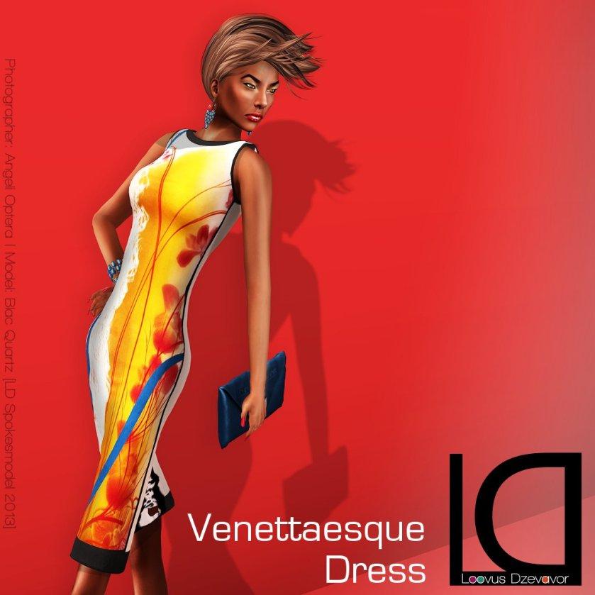 Loovus Dzevavor Venettaesque Dress ad for Limited Bazaar at Euphoria