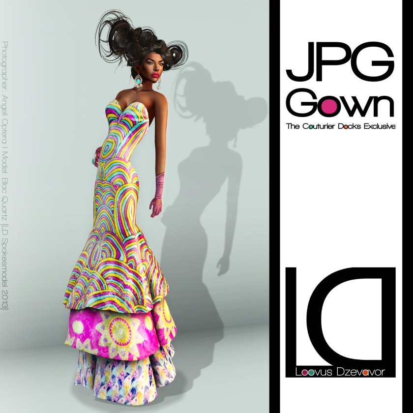 LD JPG Gown TDC ad