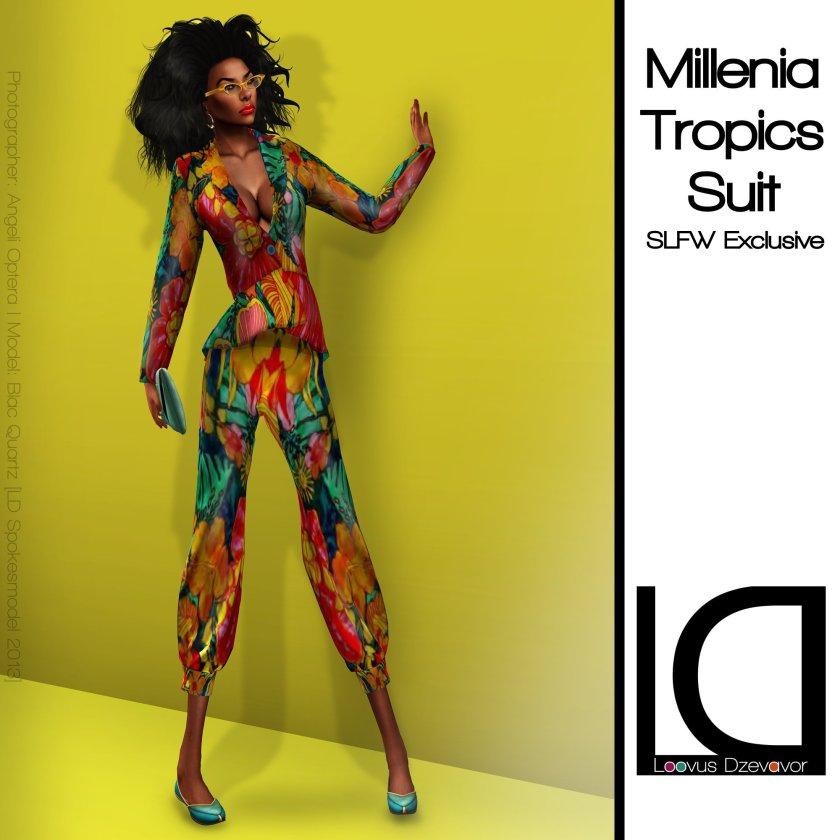 Loovus Dzevavor Millenia Tropics Suit ad