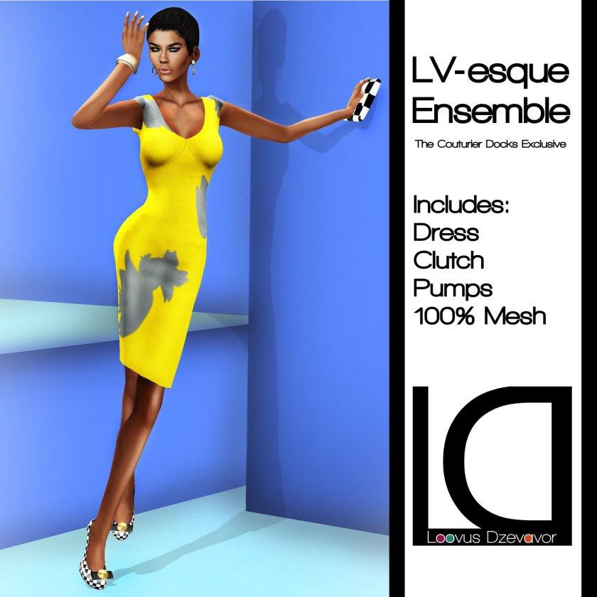 LD LV-esque Ensemble TCD Excl. ad