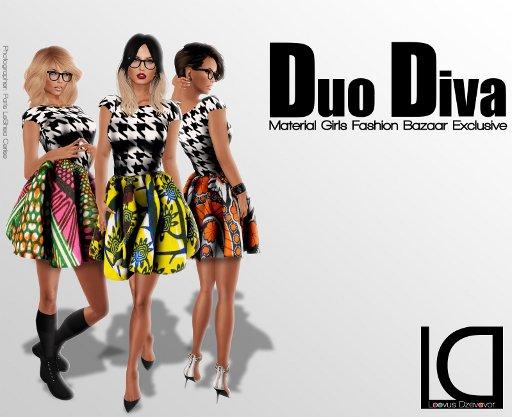 LD Duo Diva Dress ad small