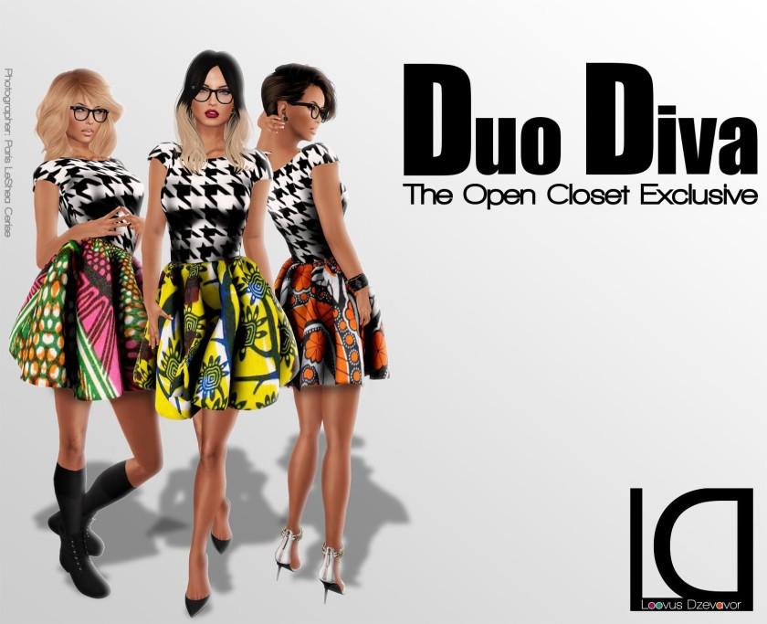LD Duo Diva Dress ad 2