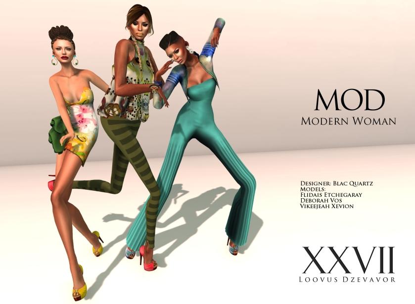 LD Mod Modern Woman ad Blac