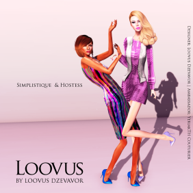 LD Simplistique and Hostess ad