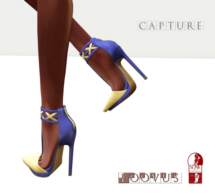 Loovus Capture Heels ad blog
