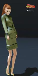 Loovus Couture Ferosh ad Look 6