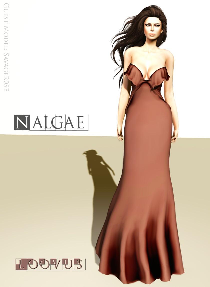 Loovus Nalgae Gown ad sm