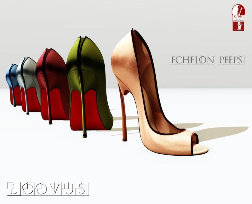 Loovus Echelon Peeps ad sm
