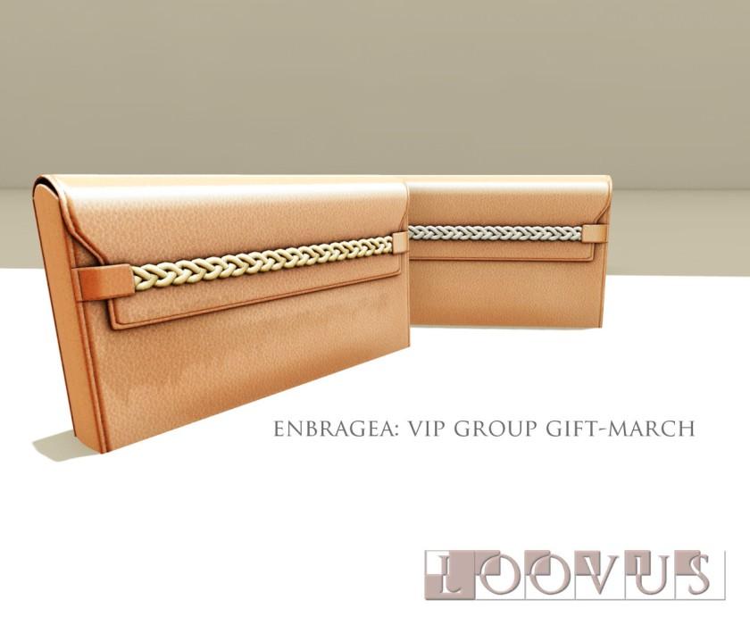 Loovus Enbragea VIP GG March ad sm