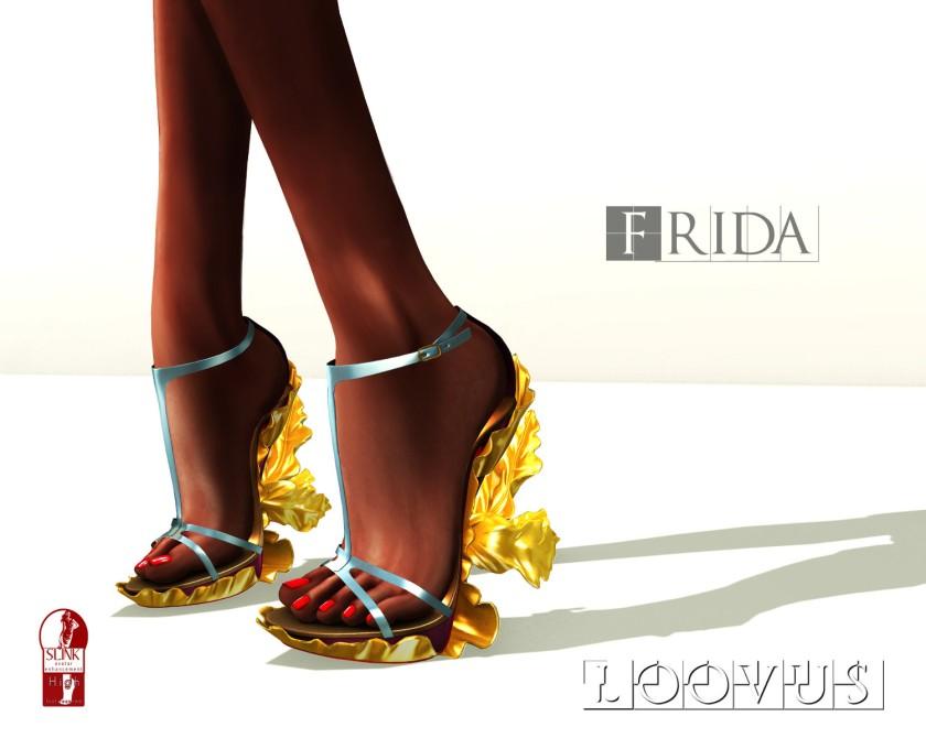 Loovus Frida Heel ad sm