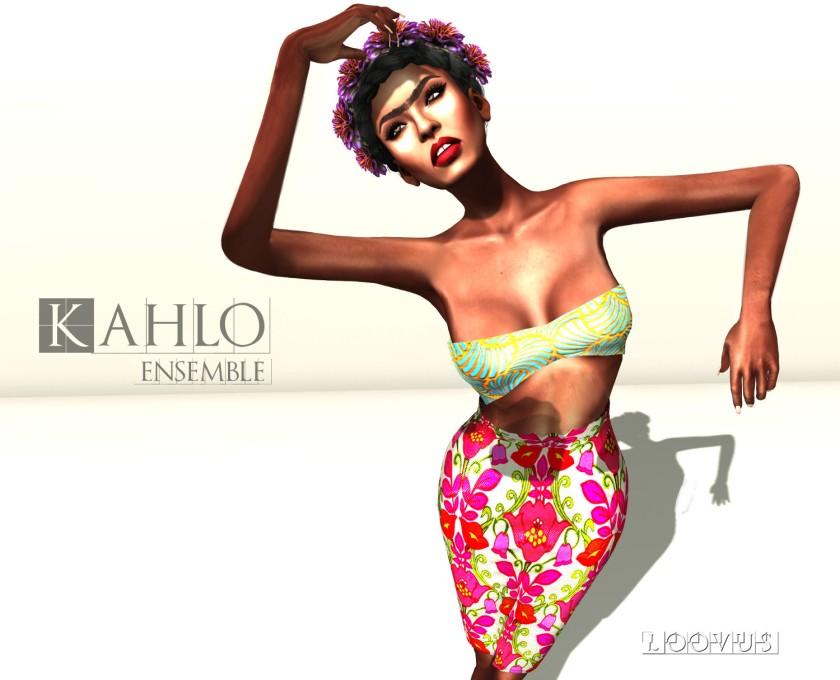 Loovus Kahlo Ensemble ad sm