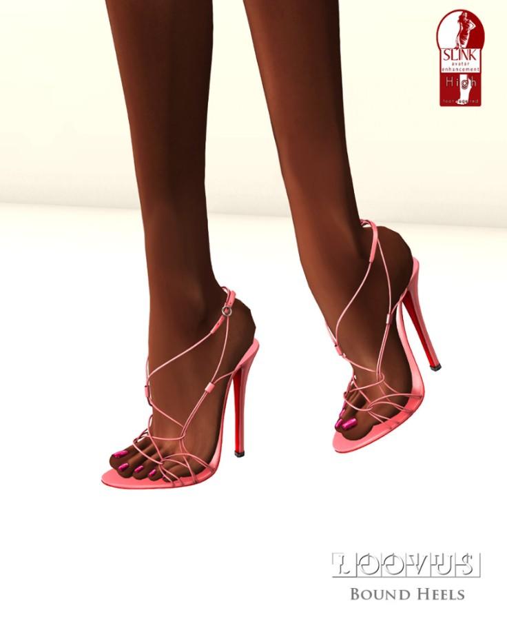 Loovus Bound Heels ad2