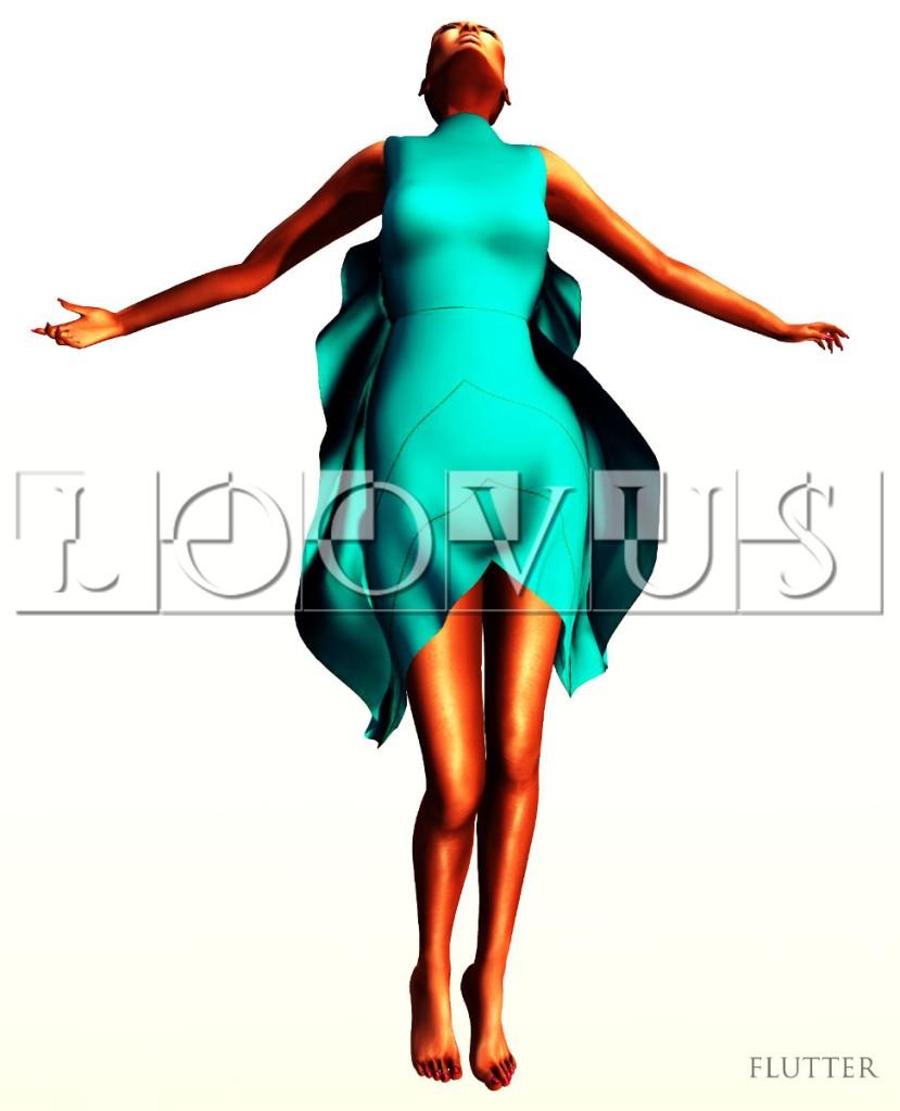Loovus Flutter Dress ad sm