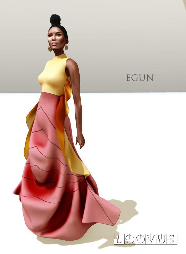 Loovus Egun Gown ad sm