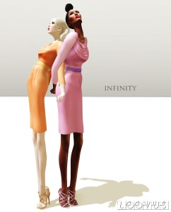 Loovus Infinity Dress ad sm