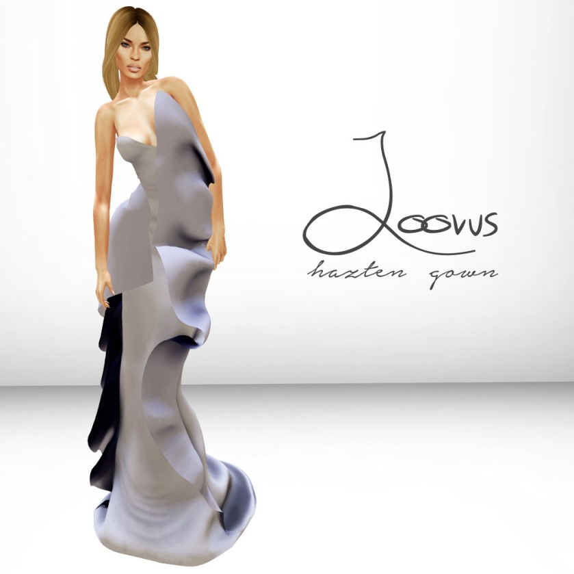 Loovus Hazten Gown ad sm